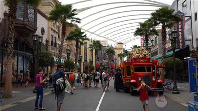 环球影城步行街